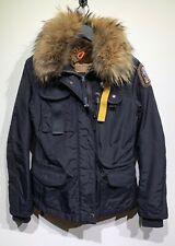 Parajumpers Navy Nylon Masterpiece Denali Parka Jacket - Size XXS