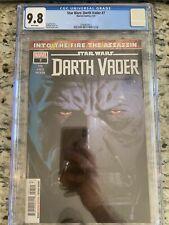 Star Wars: Darth Vader #7 CGC 9.8 🔥 1ST OCHI SITH ASSASSIN FULL APP 🔥 L@@K!