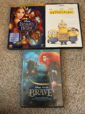 Beauty and the Beast [DVD, 2010, 2-Disc Set, Diamond Edition] Minions And Brave!