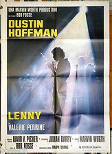 manifesto 2F film LENNY Dustin Hoffman Bob Fosse 1975