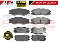 FOR CHEVROLET CAPTIVA 2.0 2.2. 2.4 2006- FRONT REAR BRAKE PAD PADS BRAKING