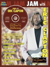 Learn to Play Jam With Eric Clapton Guitar Tab with Chord Symbols MUSIC BOOK