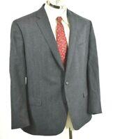 Lauren Ralph Lauren Mens 100% Wool Dark Gray Blazer Sport Coat Suit Jacket 50R