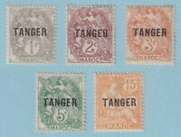 FRENCH MOROCCO 72 - 75 & 79  MINT HINGED OG * NO FAULTS VERY FINE ! - W406