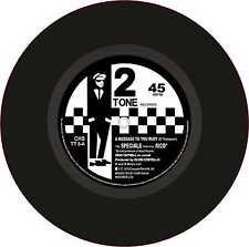 "SKA 2tone Exterior Vinyl 7"" 178mm Decals The Specials FT Rico a Message to Rudy"