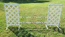 Dog Agility Equipment Wing Jump - Squared Style  FREE US Shipping