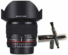 Samyang 14mm F2.8 ED AS UMC f/2.8 Ultra Wide Angle Lens for Sony E Mount ILCE