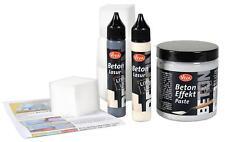 BETON EFFEKT PASTE Kreativ Set VIVA DECOR 250 ml Betonpaste + 56 ml Lasur 547