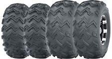 Set of 4 WANDA ATV UTV Tires 22x8-10 Front & 22x11-10 Rear 4PR