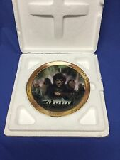 """2004 Lord of the Rings Reliving The Adventure 6.5"""" Plate Set Bradford Exchange"""
