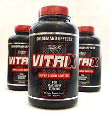Nutrex Vitrix 120 Capsules Testosterone & Libido Booster Improved Energy Stamina