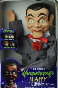 "Slappy Dummy, Ventriloquist Doll ""Star of Goosebumps"", Glow In The Dark Rare"