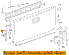 GM OEM Tail Gate Tailgate Hatch-Support Cable Bolt 16641546