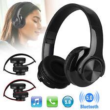 Foldable Wireless Bluetooth Headphones Stereo Earphones Bass Headset W/Mic Ipx5