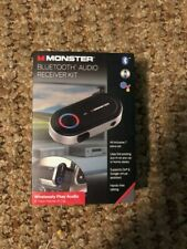 Monster bluetooth audio receiver kit - 7 Pieces- wireless support siri & google
