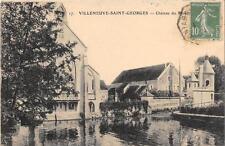CPA 94 VILLENEUVE SAINT GEORGES CHATEAU DU MOULIN