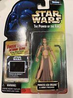 Princess Leia Luke Skywalker Collection STAR WARS Power of the Force POTC MOC