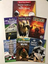 The Real Deal Second Chance Reading Teacher Guide Red Plus series and 6 books