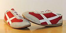 Polo Ralph Lauren Shoes Sneakers 6.5B Canvas Casual X-67 Gold Running Jogging RL