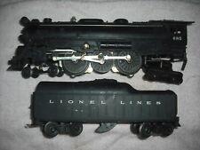 Lionel 685 engine & 2046w tender - both serviced