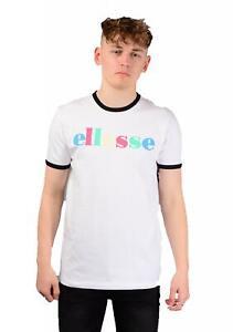 Ellesse Mens Moa T-Shirt In White RRP £25