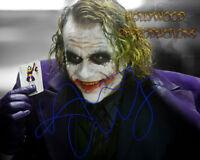 REPRINT - HEATH LEDGER Autographed signed photo 8x10 JOKER
