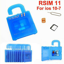 R-SIM 11 Unlock and Activation SIM Card iOS7-iOS10 For iPhone 5/5S/5C/6/6S/7/7P
