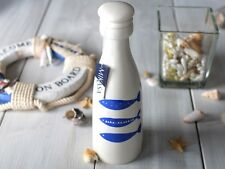 MIKASA Into The Blue TALL STONEWARE BOTTLE