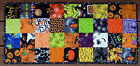 Handcrafted Quilted Table Runner- HALLOWEEN REMEMBER WHEN PUMPKIN SPIDER WEBS