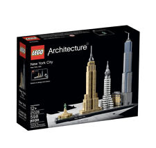 LEGO Architecture New York City 21028 598 pcs ages 12+ (a)