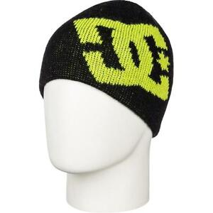 New Licensed DC Shoes Skate Snow YOUTH Beanie Hat Too Cool! blk__ MSP cr