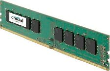CRUCIAL RAM DDR4 4GB 2400MHZ PC4-19200 SINGLE RANKED CT4G4DFS824A