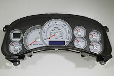 2000-02 REPLACEMENT HD2500 WHITE GAUGE ESCALADE CLUSTER RED/SILVER *$100 REBATE*