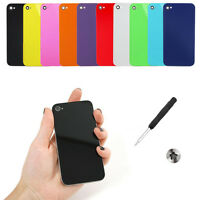 10 x GENUINE Glass Replacement Back Cover Battery Panel for iPhone 4 & FREE GIFT