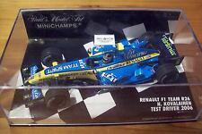 1/43 Renault 2006 F1 Team R26 Heiki Jerez controlador de prueba 2006