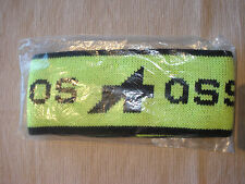 Assos NOS Wool/Acrylic Headband Fluoro Yellow / Black