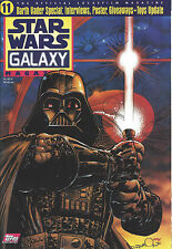 Topps Star Wars Galaxy Magazine #11 Darth Vader Special The Men Behind the Mask