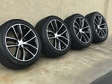 """20"""" CHARGER CHALLENGER RT SCAT-PACK BLACK WHEELS RIMS FACTORY OEM 2526 2017"""