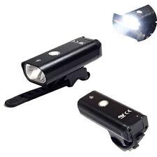 LUCE ANTERIORE LED COB RICARICABILE USB BICI CICLO BICICLETTA BIANCO TEB0084 SC0