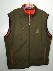 RLX Polo Ralph Lauren Full-Zip Performance Vest Soft Shell XL Shoal Creek Logo