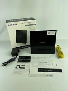NETGEAR AC1600 Wifi Cable Modem Router, Model C6250, 802.11ac Dual Band