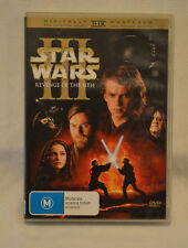 Star Wars Revenge of the Sith DVD Limited Edition 2 Disc Set Great Condition.