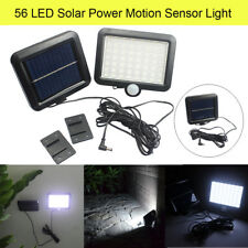 56 LED Solar Power Motion Sensor Light Waterproof Outdoor Garden Security Lamp