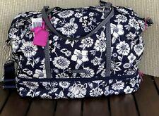 "Vera Bradley Midnight Floral Midtown Travel Bag 14.5""H x 23""W x 10""D"