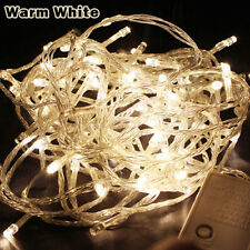 10M 100LED Fairy Christmas Xmas Tree LED String Lights Party Wedding Waterproof