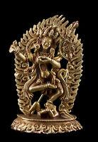 Dakini Vajravarahi Soprammobile Tibetano Master Qualità Divinità Buddista 92mm