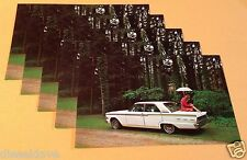 1962 Ford FAIRLANE 500 4-Dr Sedan BULK Lot Dealer Promo 5 Postcards UNUSED Ex ^