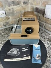 Vintage ARGUS 300 Slide Projector Automatic Model 38 Needs Bulb & Cord *Works*