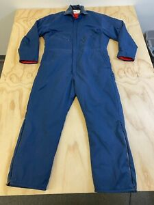 WALLS BLIZZARD PRUF MEN SIZE XL BLUE INSULATED COVERALLS