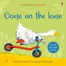 Usborne Book (new) Phonics Reader GOOSE ON THE LOOSE